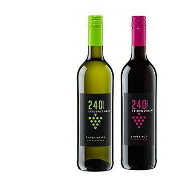 Genuss für Auge und Gaumen: die neue Weinmarke 240 Stunden Leidenschaft